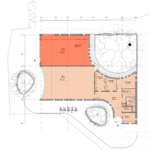 Plan of St David's Square Cafe / commercial unit