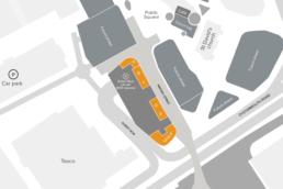 Copr Bay site plan showing Wassail Street units